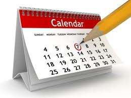 See our District Calendar